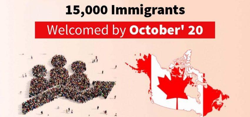 رحبت كندا بـ 15000 مهاجر جديد آخر فى أكتوبر