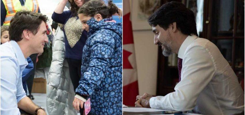 رسالة ترودو إلى اللاجئين السوريين فى كندا