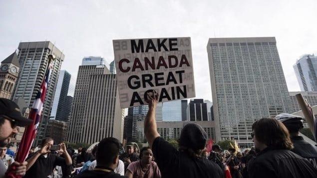 يشير بحث جديد إلى نمو التطرف اليمينى فى كندا الأطلسية