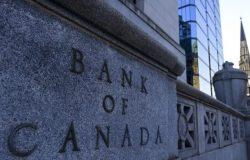 بنك كندا يحافظ على سعر الفائدة و يتوقع نمو اقتصادى فى عام 2021