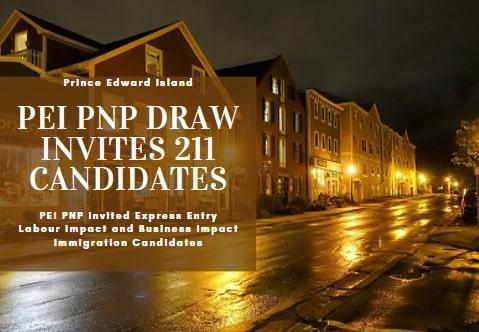 تدعو جزيرة الأمير إدوارد 211 مرشح للهجرة في أول سحب لبرنامج PNP لعام 2021