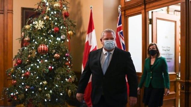 حملة تطعيم واسعة النطاق من ثلاث مراحل فى أونتاريو