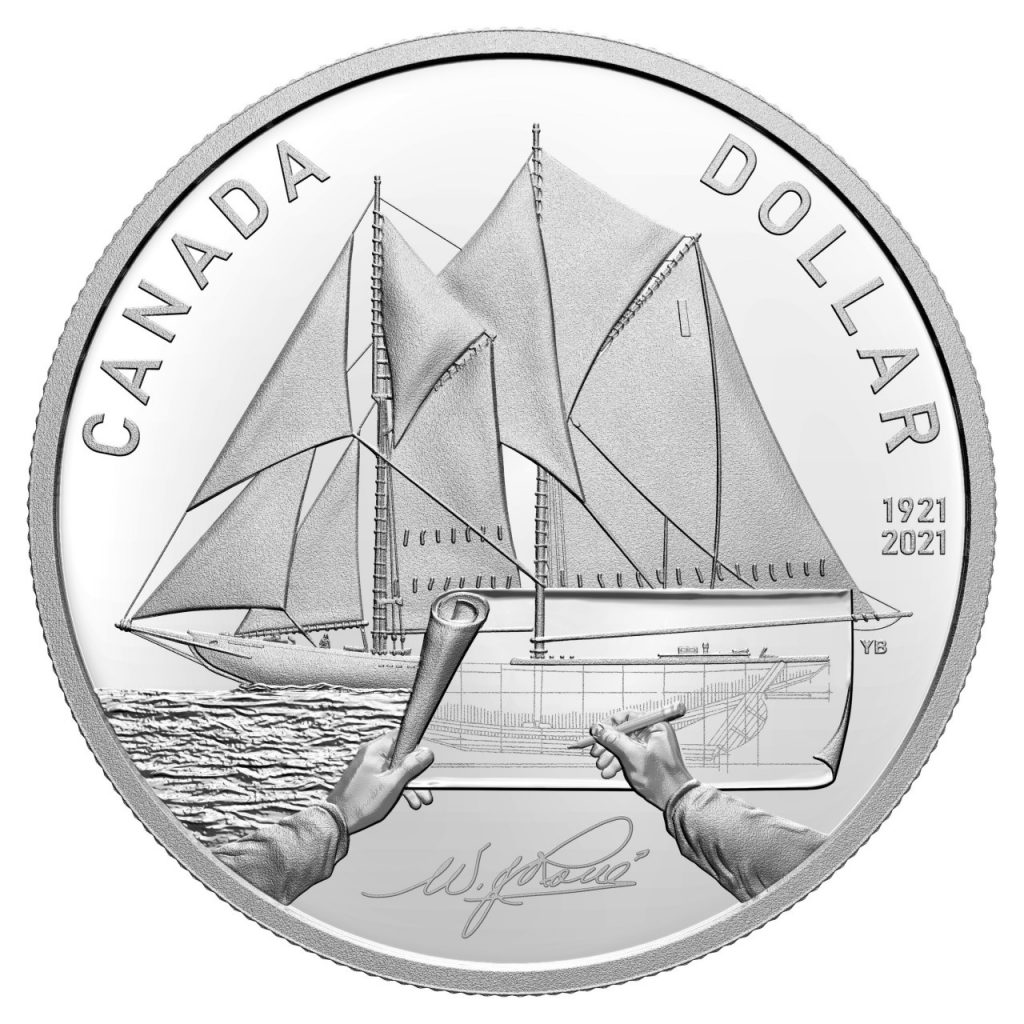 دار سك العملة الملكية تحتفل بذكرى المركب الشراعى الكندى الأسطورى بالعملات الذهبية والفضية