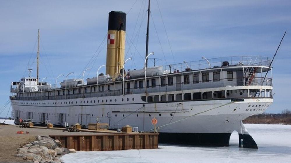 سفينة أقدم من تيتانيك يسعى المجتمع الكندى للحفاظ عليها