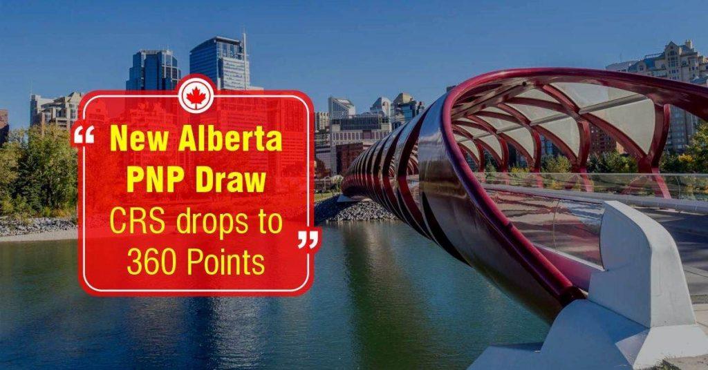 التصنيف الشامل الكندى CRS ينخفض إلى 360 فى قرعة ألبرتا الجديدة PNP