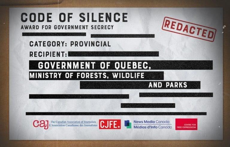 الصحفيون يسلطون الضوء على السرية في إدارة حكومة كيبيك
