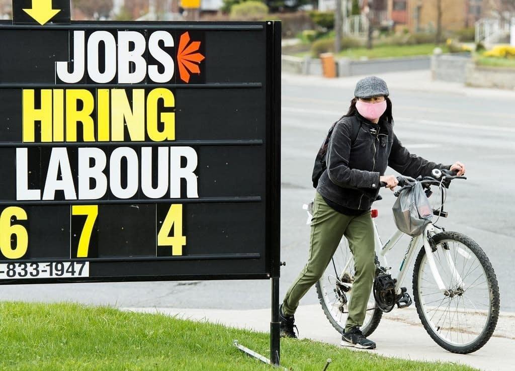 خسائر الوظائف فى يناير هى الأكبر فى كندا منذ انتشار الوباء