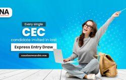 دعت كندا كل مرشح من CEC فى قرعة إكسبريس إنترى الجديدة
