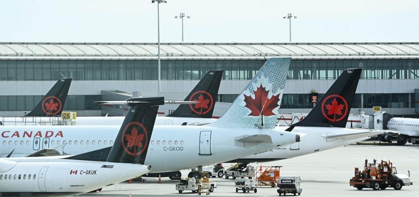 شركة طيران كندا تخفض الوظائف وتعلق الطرق مرة أخرى