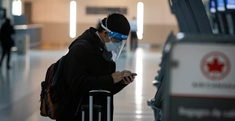 متطلبات اختبار كوفيد-19 في كندا على المسافرين القادمين