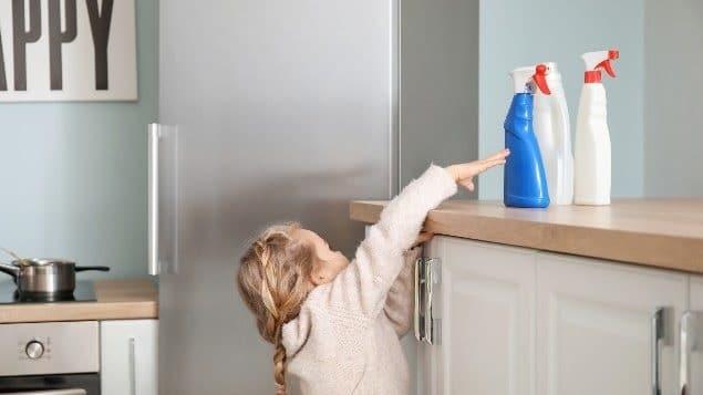 الجائحة تشكل مخاطر تسمم متزايدة للأطفال