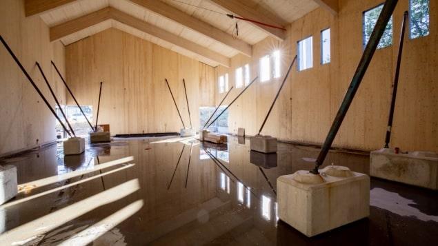 المدارس المبنية بالخشب أكثر مقاومة للزلازل