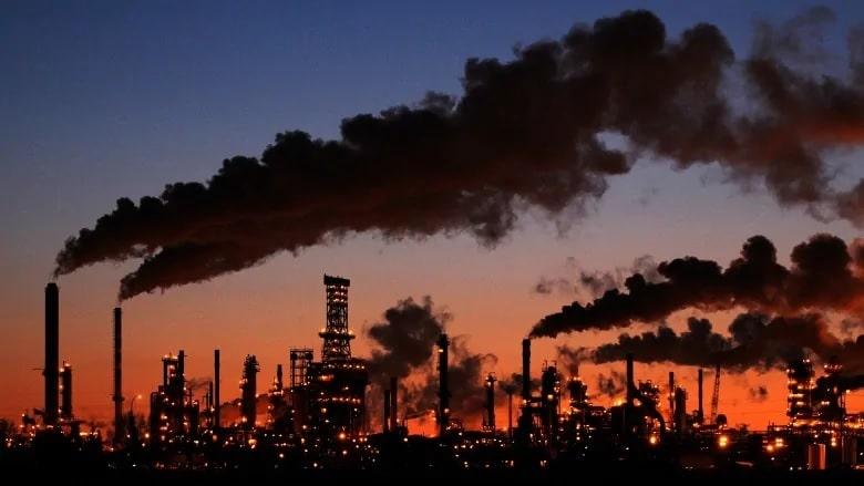 سيرتفع سعر الكربون فى كندا بمقدار 10 دولار بداية من 1 أبريل