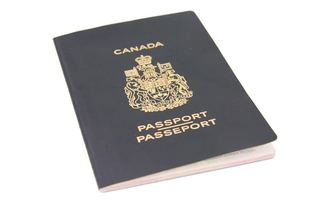 جواز السفر الكندى